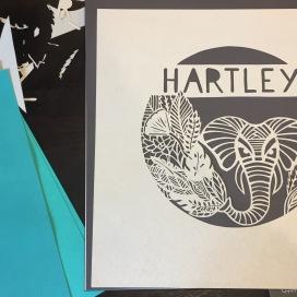 Elephant papercut