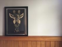 $200 unframed A3 Giraffe