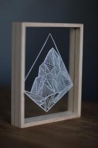 Aoraki Mount Cook Papercut