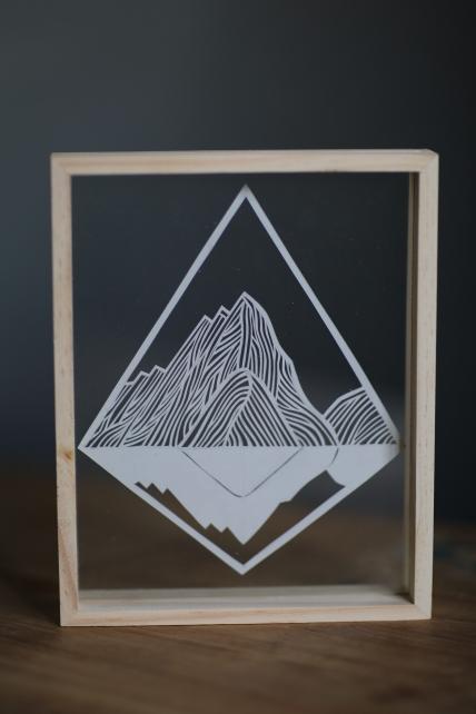 Mitre Peak papercut